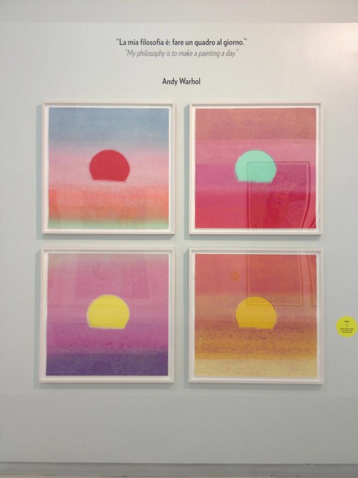 Andy Warhol Sunrise Prints