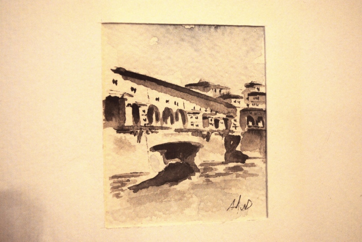 Watercolour of Florence