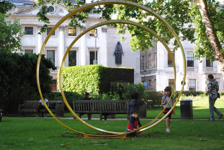 Sculpture in Cavendish Square
