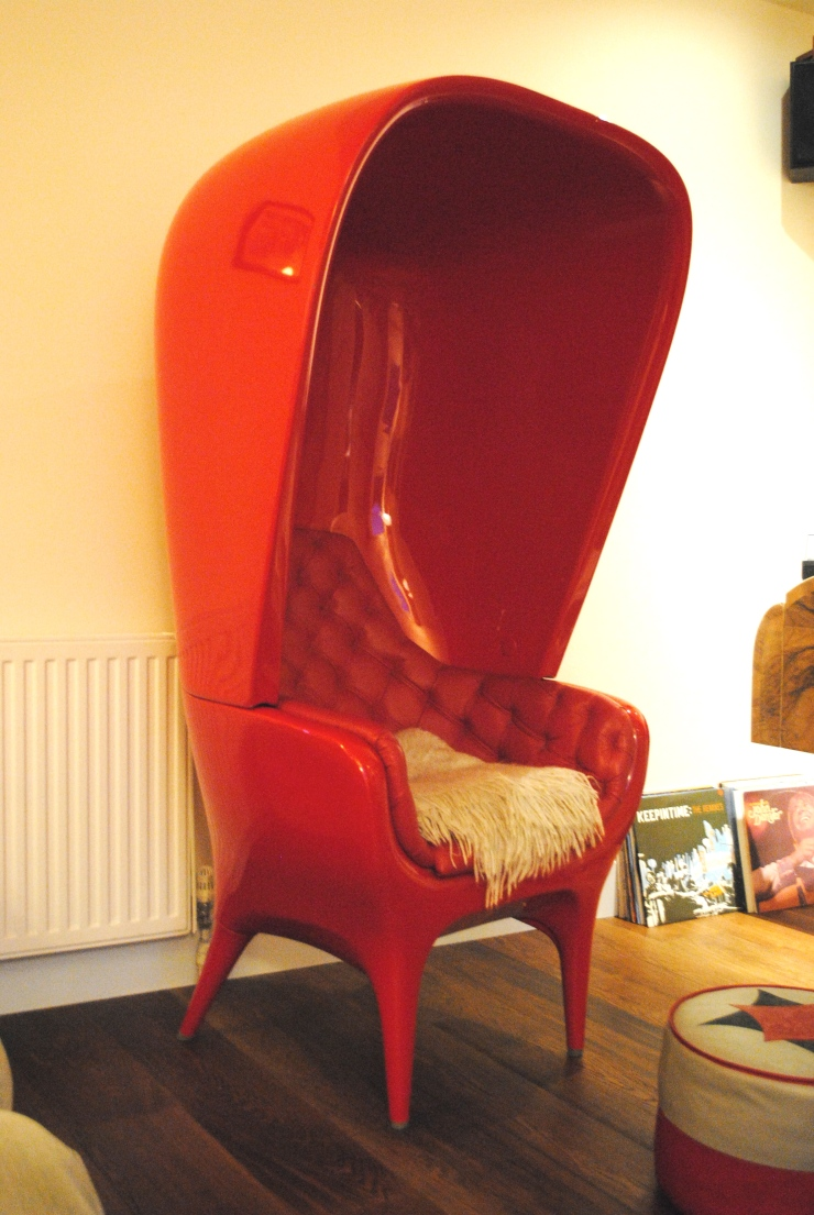 Jaime Hayon Hooded Chair