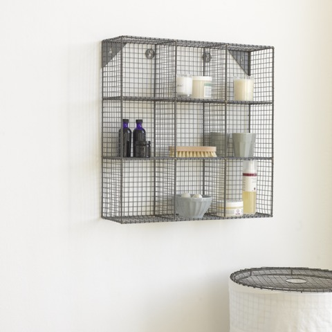 Waffle Bathroom Shelving from Loaf