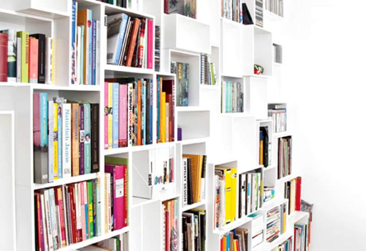 Cubit Shelving - Photo courtesy of Design Wagen