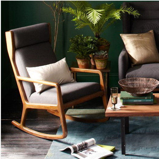 West Elm James Harrison Rocker
