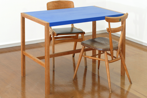Desk (commissioned for Mary Mary Gallery) by Innes Design