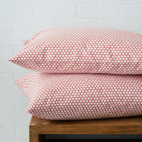 West Elm Dot Sheet Set