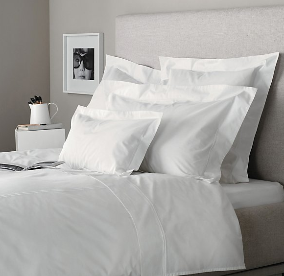 The White Company Dulwich in White Egyptian Cotton