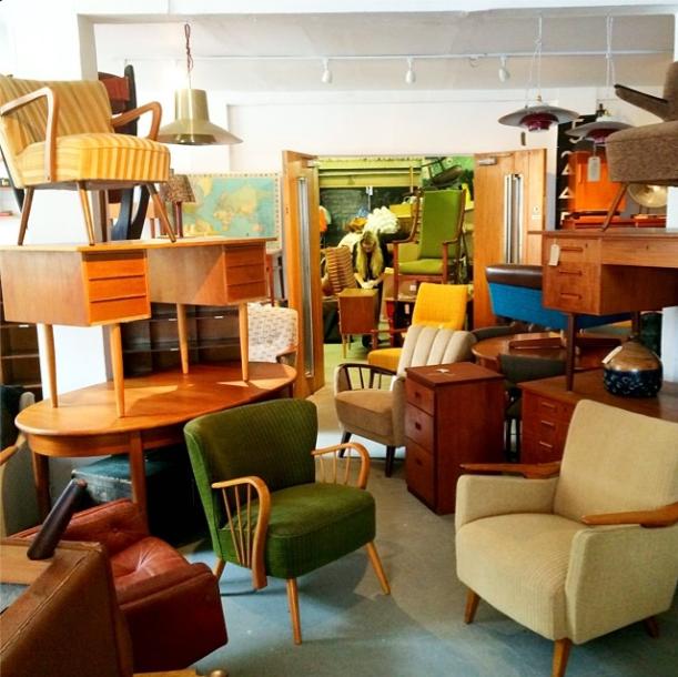 Furniture arrival at House of Twenty - our favourite vintage shop